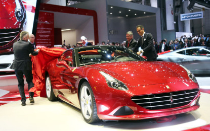 Ginevra live: Ferrari California T, FF e Apple CarPlay