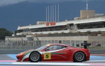 Le Ferrari dettano legge al Castellet