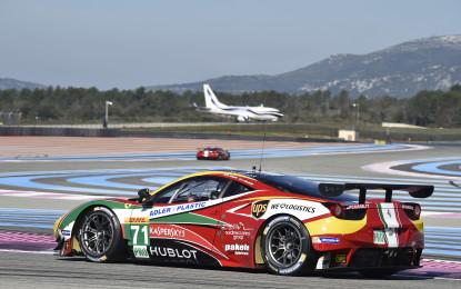 FIA WEC: la 458 da domani ai test del Castellet