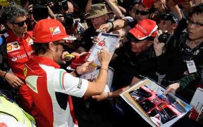 La Ferrari ai tifosi: vi piace questa F1?