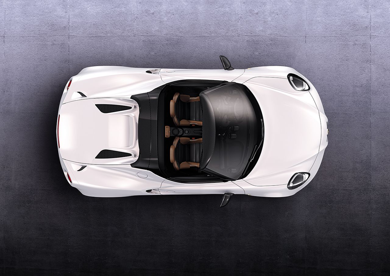 4C Spider 'Most Beautiful Car 2014'