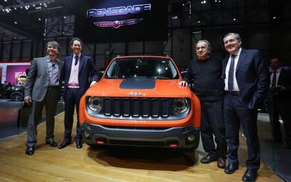 """Ginevra live: nuova Jeep Renegade, """"la"""" novità"""