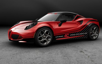 Alfa Romeo 4C Safety Car del FIA WTCC