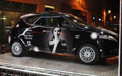 "Lancia Ypsilon sponsor di ""Kate Moss: The Icon"""