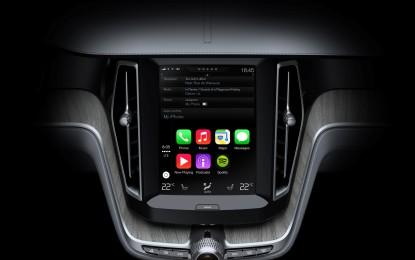 Volvo Cars e Apple, alleanza globale