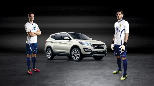 Casillas e Kaká Brand Ambassador Hyundai