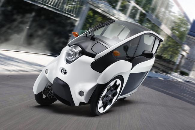 Toyota i-Road inizia la fase di test