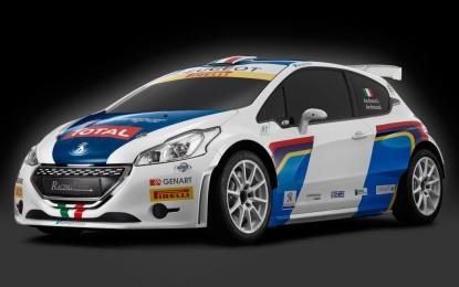 Rally del Ciocco: evento speciale per Peugeot
