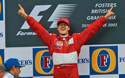 Il cuore Ferrari batte sempre per Michael!