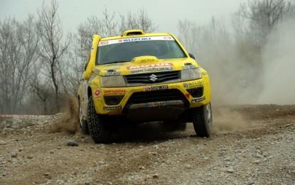 Suzuki, inizio vincente all'Italian Baja