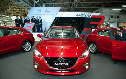 La prima Mazda3 in diretta dalla Thailandia