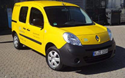 Renault Kangoo Z.E. per Deutsche Post DHL