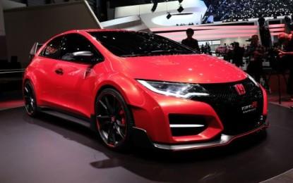 Ginevra live: Honda Concept nuova Civic Type R