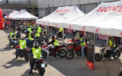I demo-ride Honda Live Tour fanno tappa a Torino