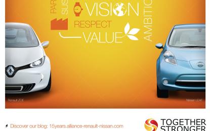 15 anni di Alleanza Renault-Nissan