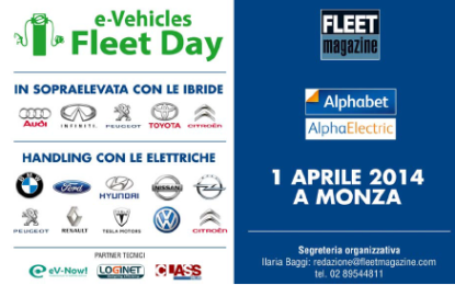 e-Vehicles Fleet Day a Monza