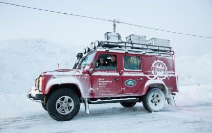 """Land Rover porta a termine la spedizione """"Polo del Freddo"""""""