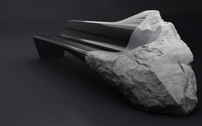Peugeot ONYX, un sofà in lava e carbonio