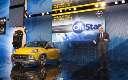 Opel annuncia il lancio di OnStar