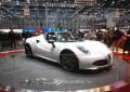 Alfa Romeo 4C Spider, l'avant-première