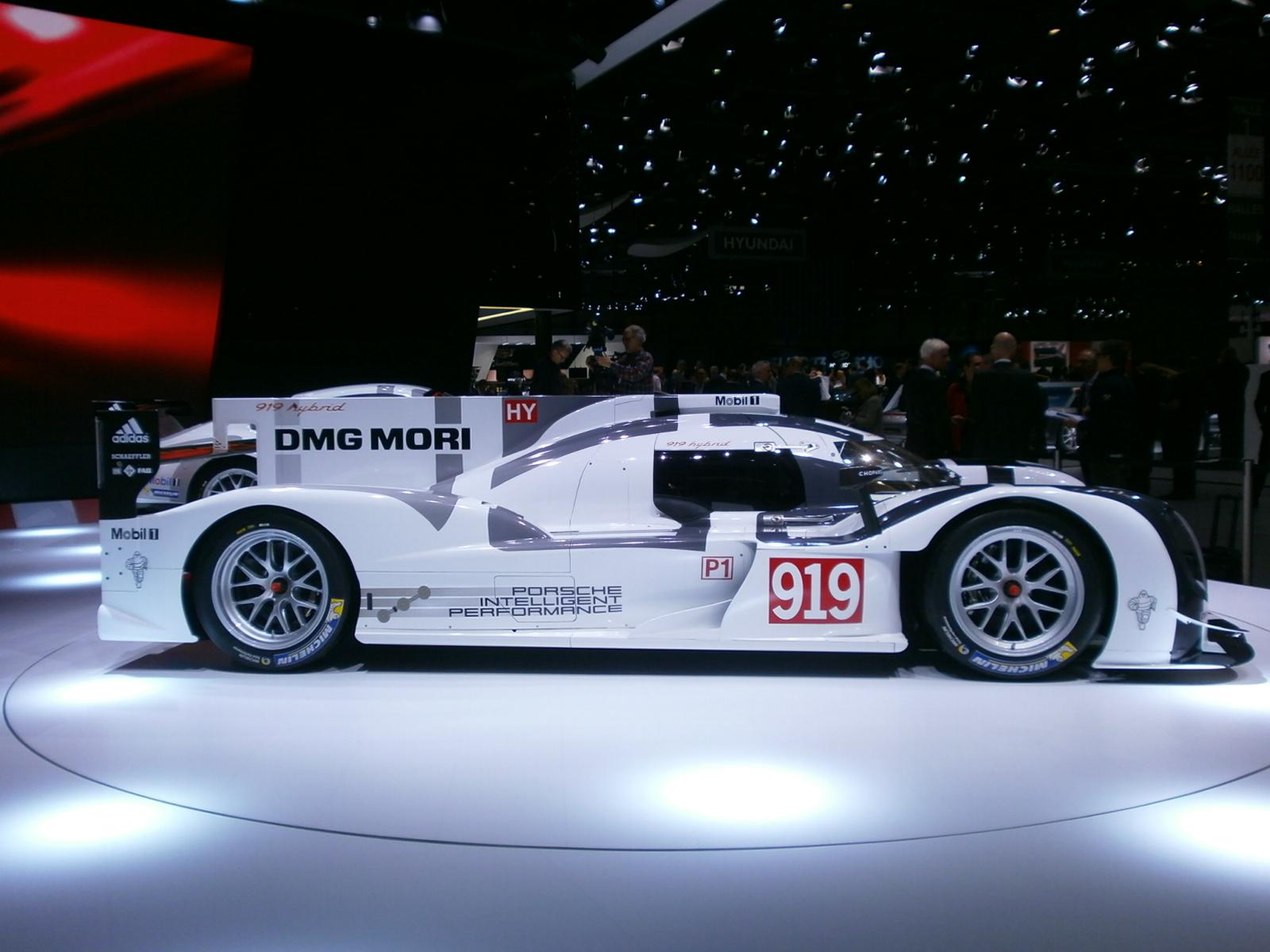 Michelin per la Porsche 919 Hybrid
