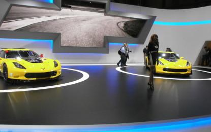 Ginevra live: Chevrolet mette in mostra la potenza di Corvette