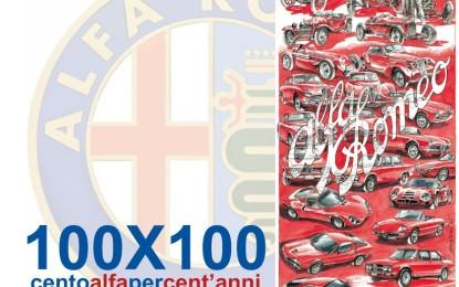 100X100 cento alfa per cent'anni