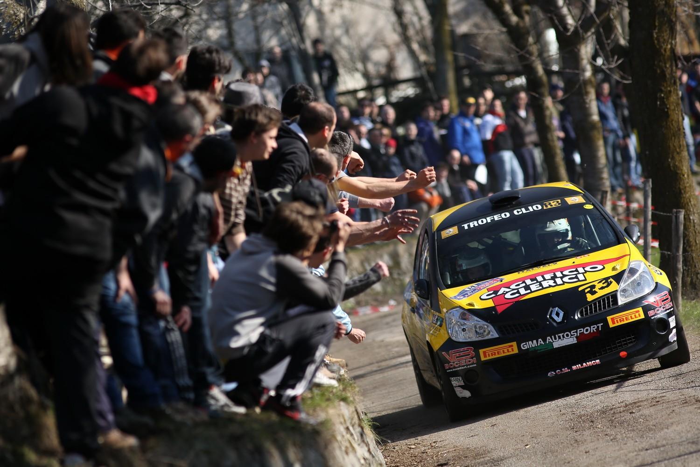Renault pronta alla nuova stagione nei rally italiani