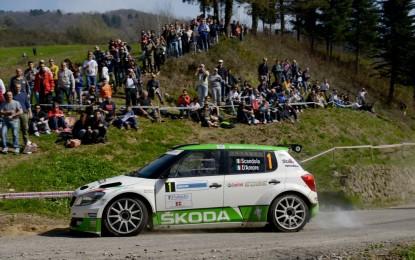 ŠKODA Italia Motorsport 2° assoluta al Ciocco