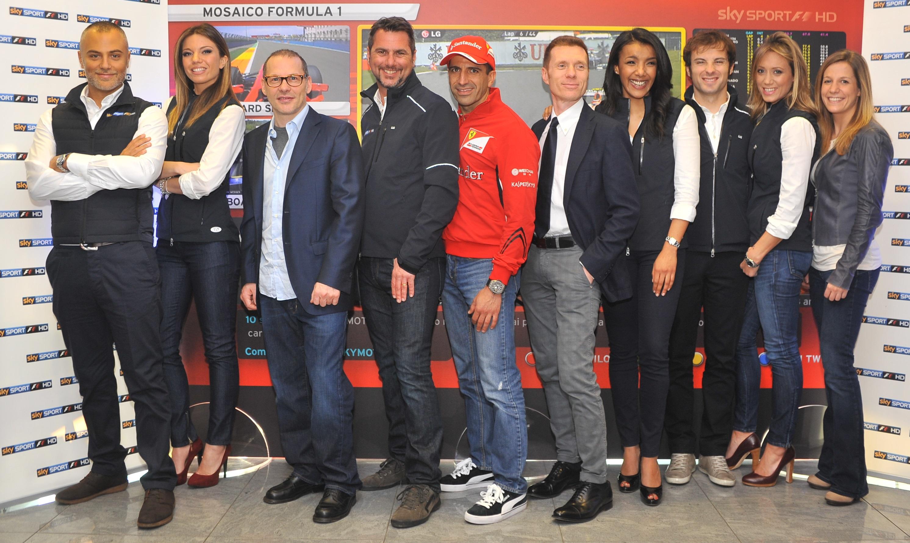 F1: anche la stagione di Sky mette il turbo