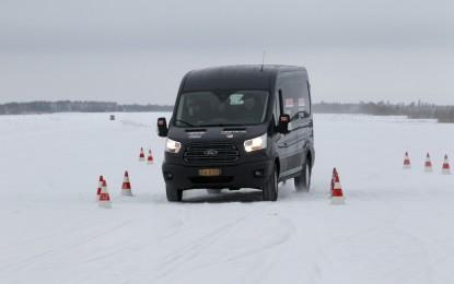 Transit e Connect: doppia vittoria all'Arctic Van Test