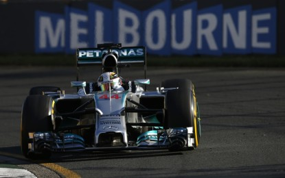 Pole a Hamilton, nel giorno di Ricciardo