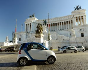 car2go e AS Roma: iniziative per i tifosi