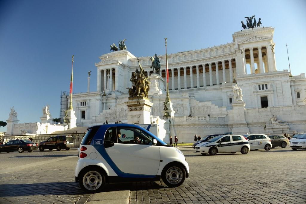 car2go e AS Roma: iniziative per i tifosi