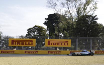 AUS: nelle libere debutta la nuova gamma Pirelli