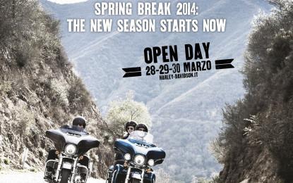H-D: Spring Break dal 28 al 30 marzo