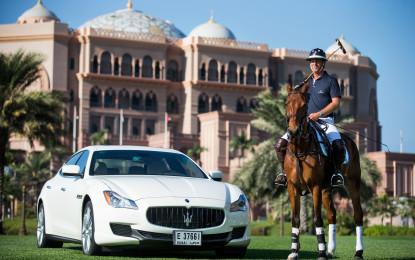 Maserati celebra il centenario sui campi di polo