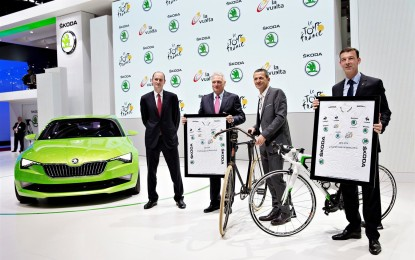 ŠKODA partner ufficiale del Tour de France