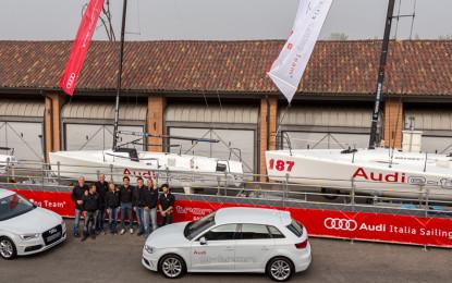 Al via le Audi tron Sailing Series 2014