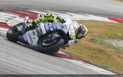 MotoGP: Rossi davanti, ancora problemi per Lorenzo