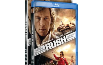 "Brembo partner di ""Rush"" in Home Video"