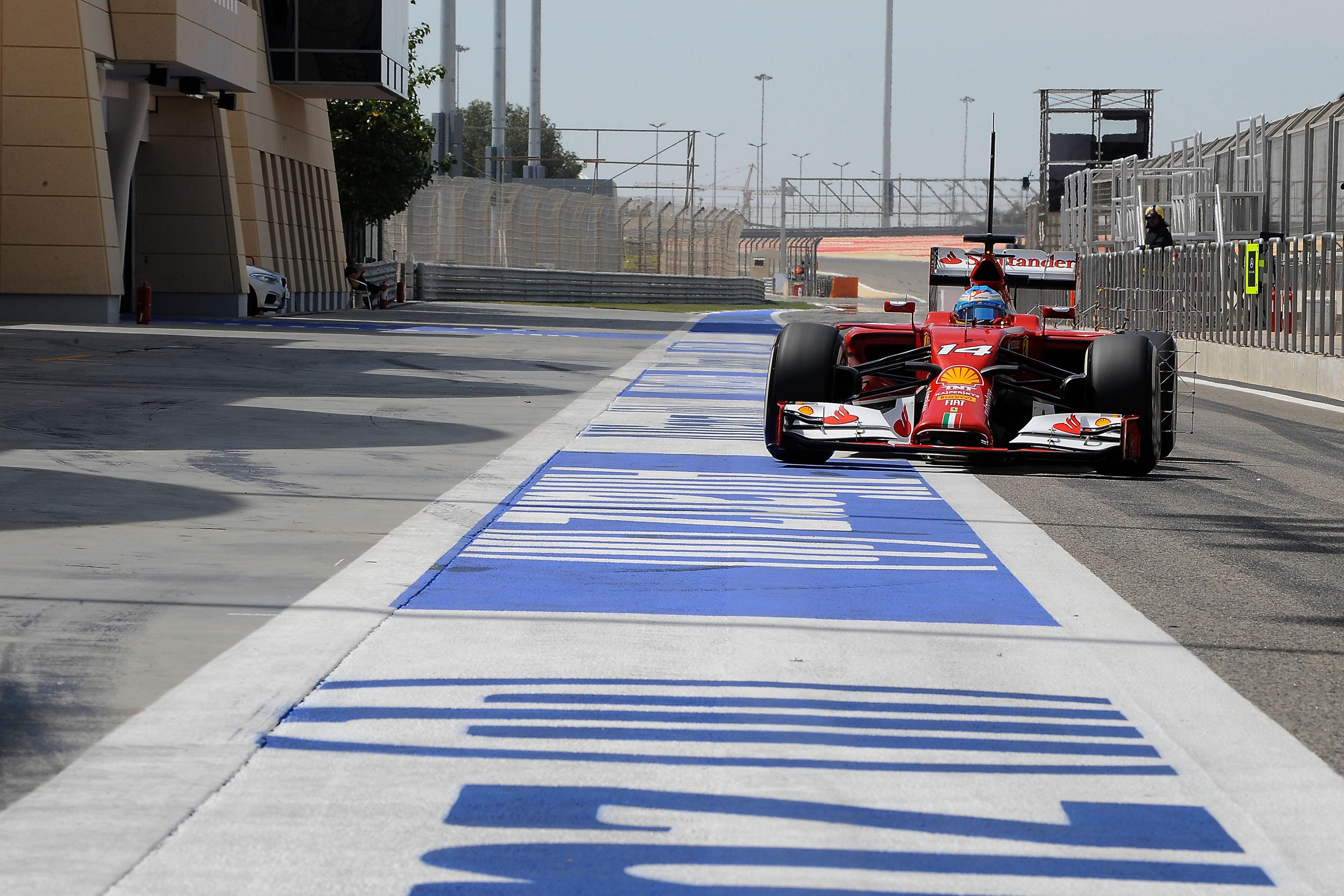 A Sakhir prove di assetto per Alonso