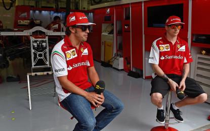 Kimi e Fernando alla vigilia del Bahrain