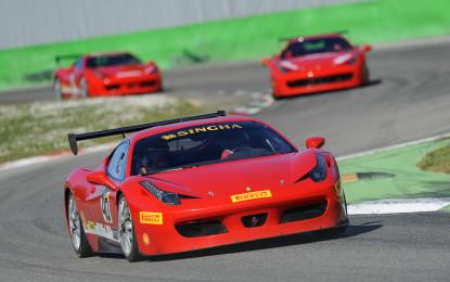Al via a Monza il Ferrari Challenge Europe