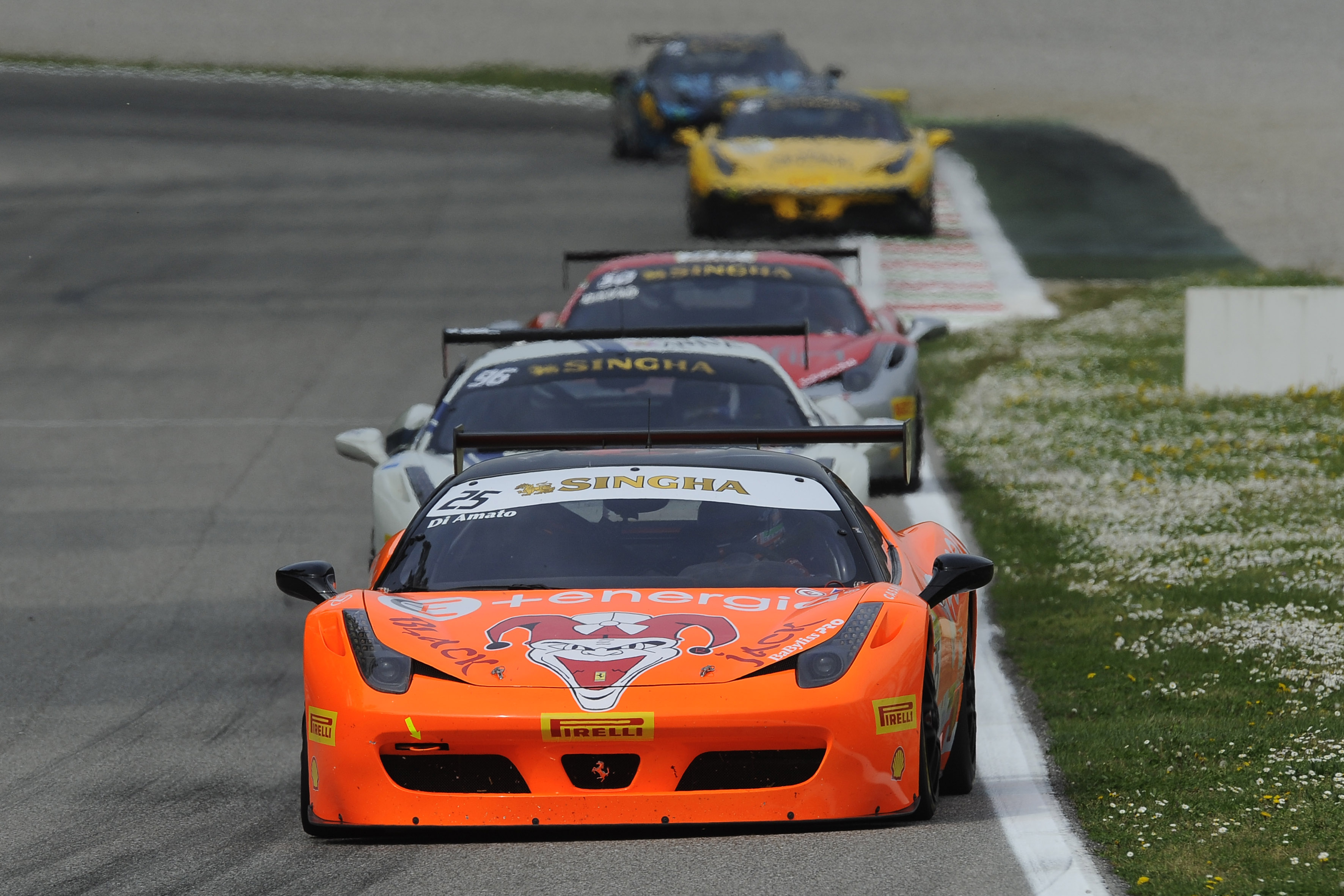 Trofeo Pirelli: podio tutto italiano in Gara 2