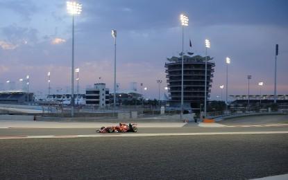 Bahrain: la griglia di partenza