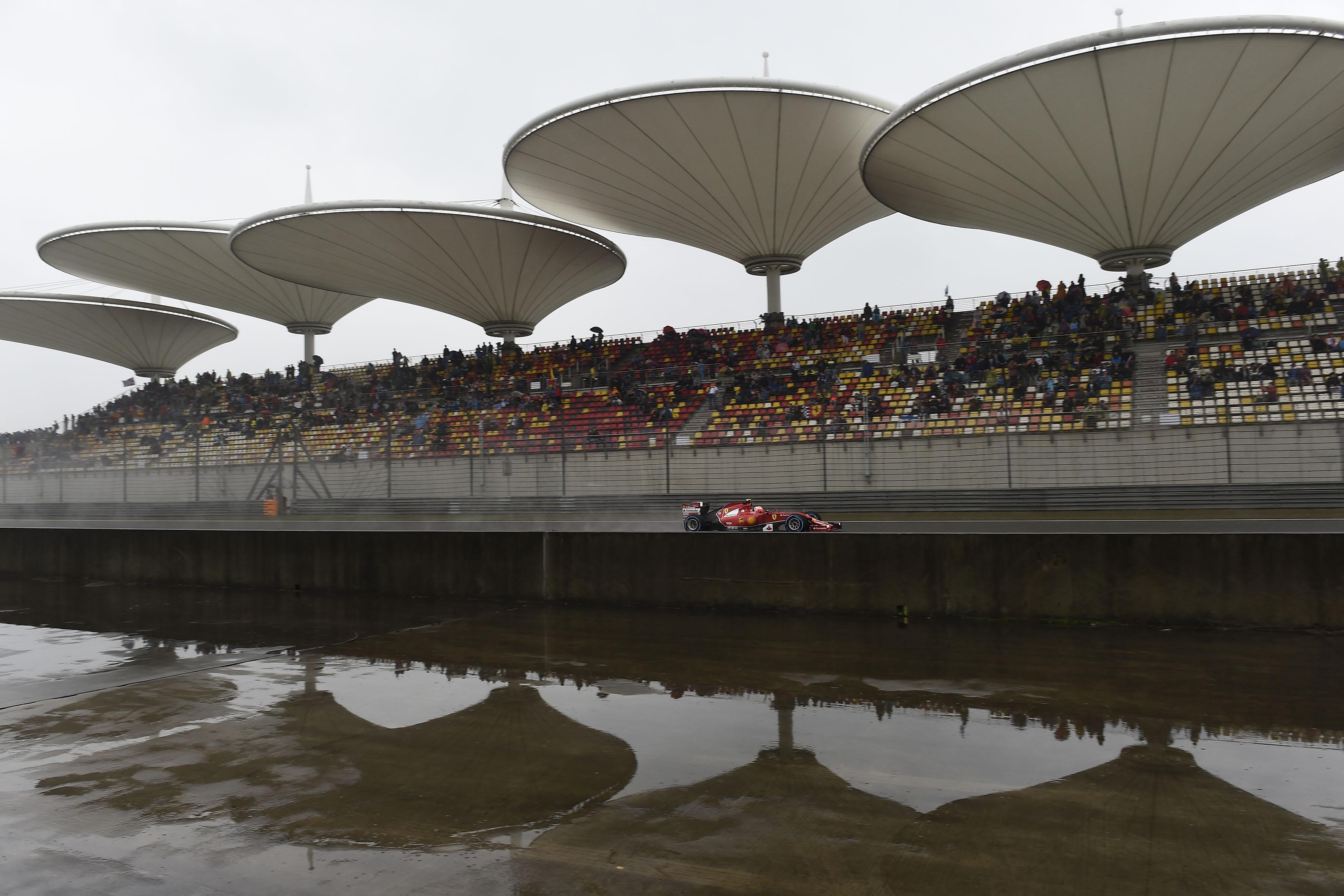 Ferrari: 3° e 6° fila per Alonso e Raikkonen