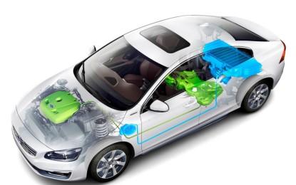 Volvo concept car S60L PPHEV