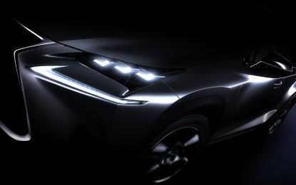 Lexus NX: prima mondiale a Pechino