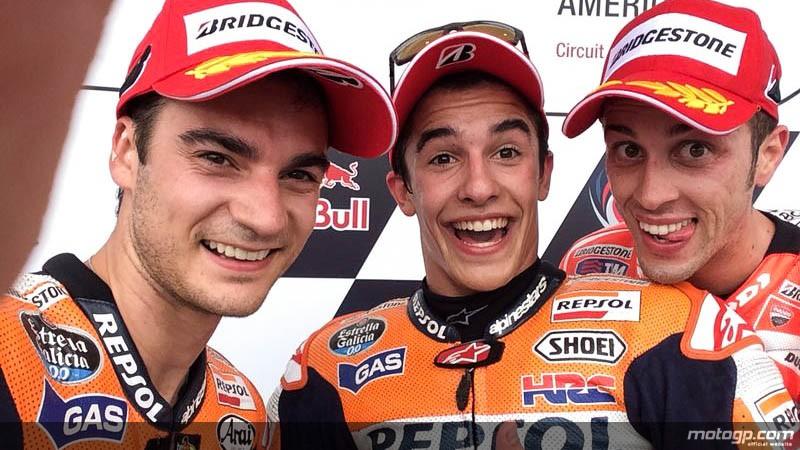 Dominio di Marquez, Ducati torna sul podio